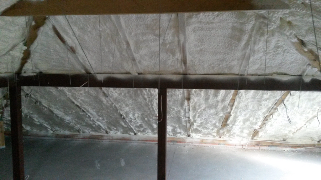 Izolacja Pianką PUR stropu, poddasza, wykonanie IzolPoznań