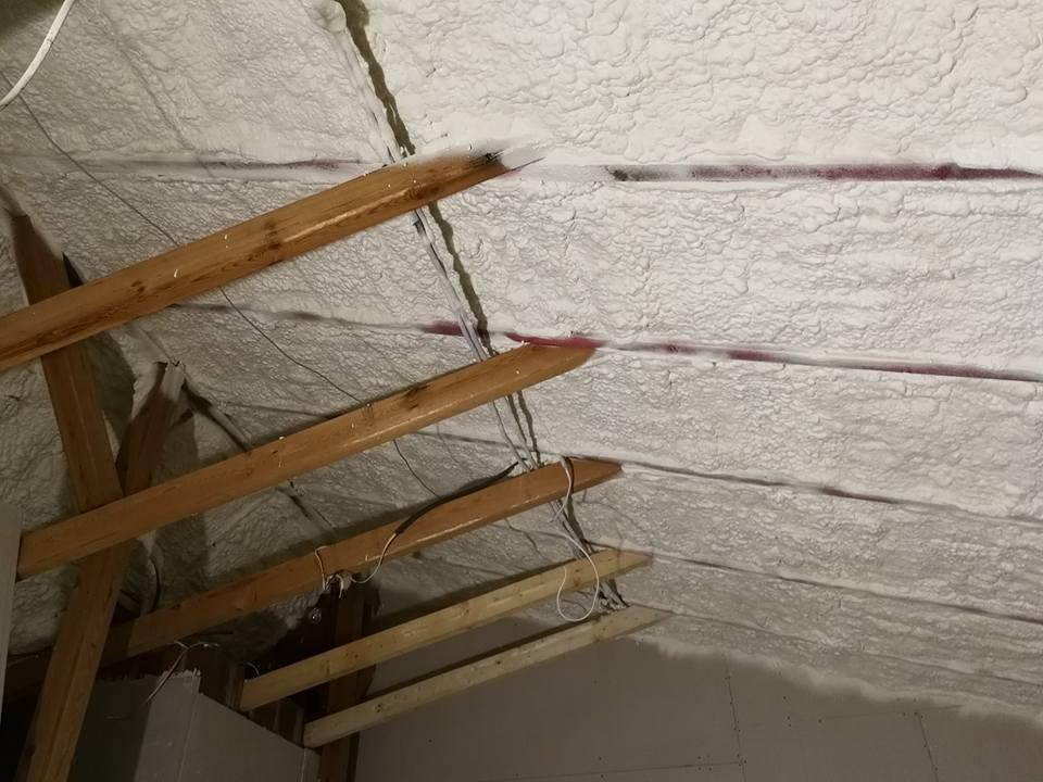 Wykonanie ocieplenia dachu skośnego w miejscowości Lasocice, Izolacja Natryskowa IzolPoznań